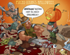 Cartoon: Psycho Vikings 3 (small) by Charmless tagged halloween kürbis wikinger