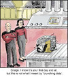 Cartoon: Data (small) by noodles tagged next,generation,data,picard,crunching,noodles,star,trek