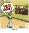 Cartoon: Flavor (small) by noodles tagged flavor,flav,fave,salvador,dali,public,enemy,yeah,boyee,art