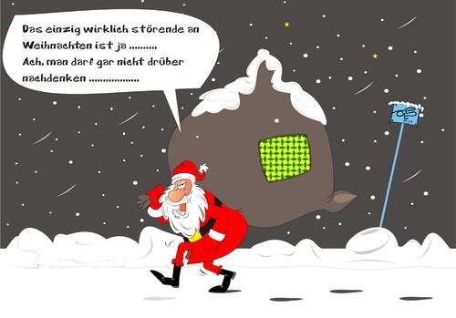 weihnachten by pinella media culture cartoon toonpool. Black Bedroom Furniture Sets. Home Design Ideas