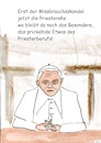 Cartoon: Der Priesterberuf (small) by Stefan von Emmerich tagged benedikt,priester,missbrauchsskandal,cartoon,zölibat