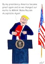 Cartoon: MRAA (small) by Stefan von Emmerich tagged vote,him,away,donald,trump,dump,president,america,the,liar,tweets,tonight