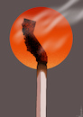 Cartoon: Cali Fires (small) by NEM0 tagged california,wildfires,fires,wildfire,cal,fire,arson,arsonist,drought,natural,disaster,state,of,emergency,global,warming,nemo,nem0