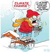 Cartoon: Change for Climate Change (small) by NEM0 tagged climate,change,environment,weather,ecology