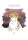 Cartoon: Frittenfrisur (small) by Koppelredder tagged pommes,fritten,pommesfrites,frisur,mode,haare