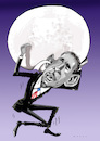 Cartoon: Obama (small) by Wesam Khalil tagged obama