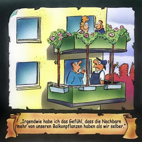 balkonpflanzen by hsb cartoon education tech cartoon toonpool. Black Bedroom Furniture Sets. Home Design Ideas