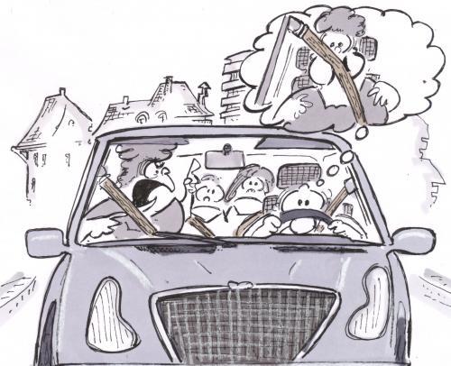 Cartoon: fasten seat belt (medium) by HSB-Cartoon tagged belt,safety