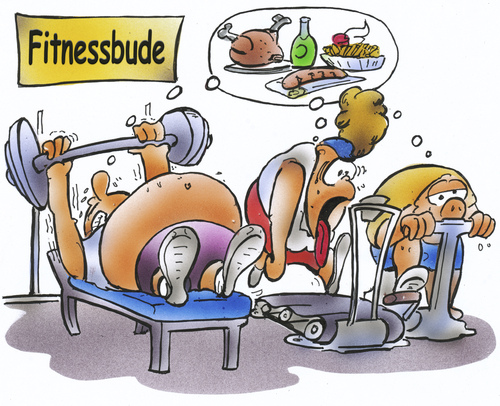 Fitness by hsb cartoon sports cartoon toonpool - Fitness cartoon pics ...