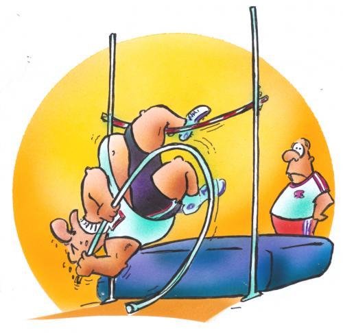 Cartoon the olympic idea medium by hsb cartoon tagged olympic sport
