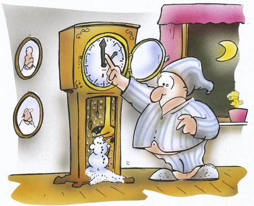 Uhrenumstellung Winterzeit