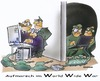 Cartoon: cyber war (small) by HSB-Cartoon tagged internet,computer,wikileaks,troups,war,cyber,worldwideweb,hsbcartoon,hsbfaktory,cartoon,caricature,karikatur,airbrush,airbrushdesign,airbrushart