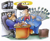 Cartoon: job application (small) by HSB-Cartoon tagged job,application,boss,student,worker,work,bewerbung,bewerbungsgespräch,cartoon,caricature,karikatur,airbrush