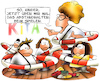 Cartoon: Kita in Coronazeiten (small) by HSB-Cartoon tagged kita,kindertagesstätte,kindergarten,covid19,corona,coronavirus,kindergartenleiterin,kindergärtnerin,kinder,betreuung,kindertagesgeld,abstand,abstandhalter,erzieherin,cartoon,cartoonzeichner