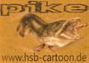 Cartoon: pike (small) by HSB-Cartoon tagged pike,fish,fishing,angel,hengel,fishingsport,water,river,sweetwaterfish,inshorefishing,fishingcartoon,hecht,wobbler,angelrute,angelsport,angler,anglercartoon,anglermotiv,hechtangeln,raubfisch