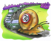 Cartoon: Tempo 30 (small) by HSB-Cartoon tagged tempo,strasse,verkehr,verkehrschild,schnecke,auto,lkw,traffic,road,street,snail,sign,airbrush,car