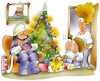 Cartoon: Weihnachtsbaum (small) by HSB-Cartoon tagged christmas,tree,family,fire,safety,airbrush,bescherung,brand,brandmelder,feiertage,feuer,feuerschutz,feuerwehr,feuerwehrmann,hsb,hsbcartoon,karikatur,kerze,kerzenlicht,licht,lichterkette,lokalkarikatur,rauchmelder,schmuck,tanne,tannenbaum,tannenbaumschmuck,weihnacht,weihnachten,weihnachtsbaum