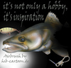 Cartoon: Zander (small) by HSB-Cartoon tagged fish,fisch,zander,airbrush,angeln,wobbler,fishing,pikeperch,pike,perch,angelsport