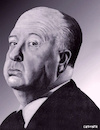 Cartoon: Alfred Hitchkock Portrait (small) by Cartoonfix tagged alfred,hitchkock