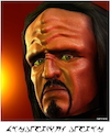 Cartoon: Klingon (small) by Cartoonfix tagged klingon,character,star,trek