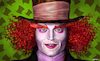 Cartoon: Mad Hatter JohnnyDepp (small) by Cartoonfix tagged johnny,depp,mad,hatter,alice,im,wunderland