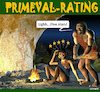Cartoon: Primeval Rating (small) by Cartoonfix tagged rating,internet,vorzeitprimeval