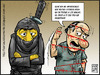 Cartoon: ninjas (small) by Wadalupe tagged ninjas,karate,defensa,kungfu,movies,leyenda,japon,guerra,sabotaje