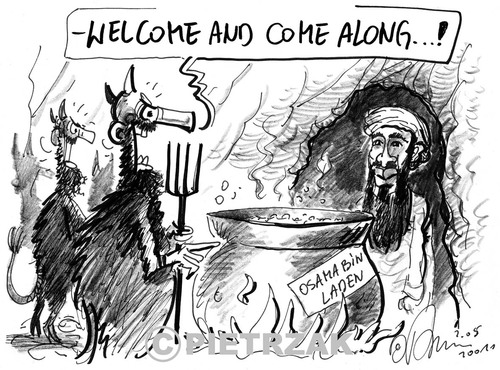 usama in laden cartoons. Cartoon: Osama Ben Laden