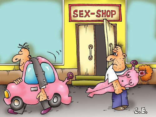 cartoon gay shop