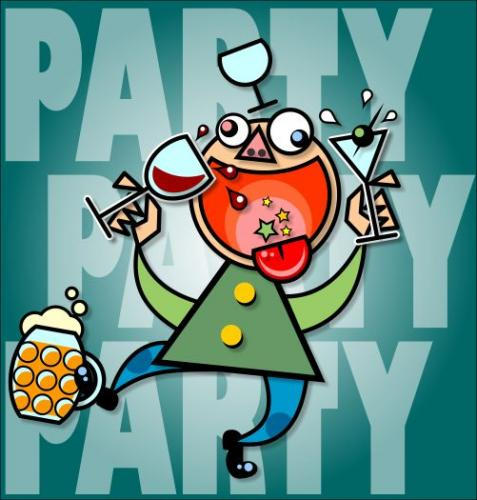 party party by gnurf media culture cartoon toonpool
