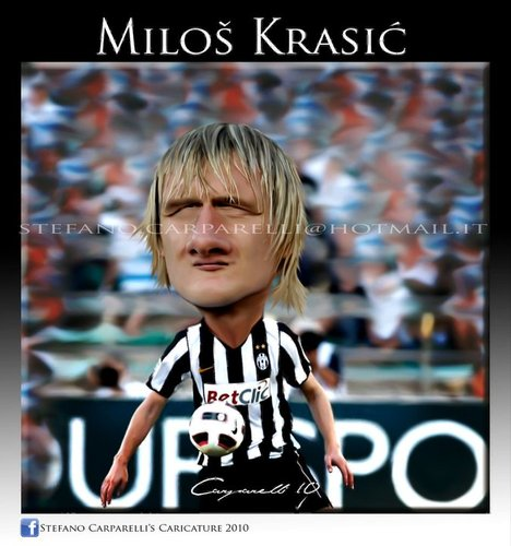 Cartoon: Krasic (medium) by carparelli tagged caricature