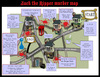 Cartoon: Murder in Whitechapel! (small) by campbell tagged jack,the,ripper,whitechapel,murder,map,london,tourist