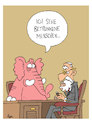 Cartoon: Rosa Elefant beim Psychater (small) by Tim Posern tagged rosa,elefant,psychater,alkohol