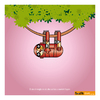 Cartoon: Cool! (small) by Giuseppe Scapigliati tagged bradi,pit,bradipo,sloth,lentezza,amore,green,ironman