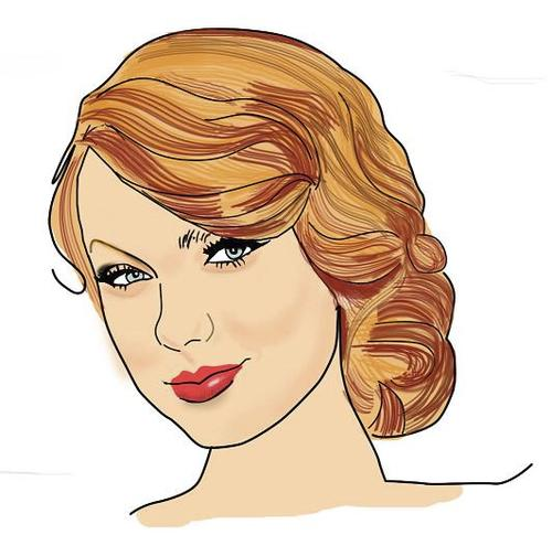 Taylor Swift By Caminante Famous People Cartoon Toonpool
