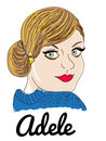 Cartoon: Adele (small) by caminante tagged adele