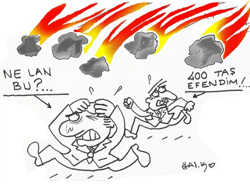 Cartoon: 400 deputy (medium) by yasar kemal turan tagged 400,deputy