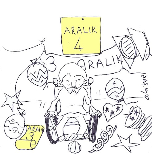 Cartoon: 4 December (medium) by yasar kemal turan tagged december