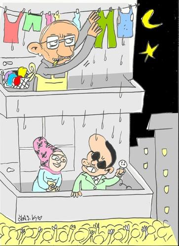 Balcony speech by yasar kemal turan media culture for Balcony cartoon