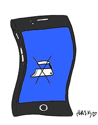 check out b061a 60a37 iPhone 6 By yasar kemal turan   Media & Culture Cartoon   TOONPOOL