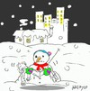 Cartoon: cold hands (small) by yasar kemal turan tagged cold,hands