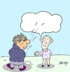 Cartoon: expression-azizlik (small) by yasar kemal turan tagged dialogue democracy expression