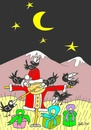 Cartoon: friendship (small) by yasar kemal turan tagged friendship father christmas love crow railing