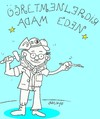Cartoon: Happy Teachers Day (small) by yasar kemal turan tagged happy,teachers,day
