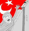 Cartoon: heart of mother (small) by yasar kemal turan tagged heart,of,mother