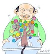 Cartoon: microphone tree (small) by yasar kemal turan tagged microphone,tree