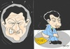 Cartoon: proposal (small) by yasar kemal turan tagged proposal,political,decision,nicolas,sarkozy,armenian,bill