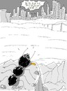 Cartoon: the right of the ant (small) by yasar kemal turan tagged the,right,of,ant