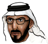 Cartoon: mohammed najeeb (small) by adwan tagged mohammed,najeeb