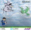 Cartoon: Saudi soccer team and the Thai E (small) by adwan tagged saudi,soccer,team,and,the,thai,elephant